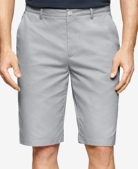 Calvin Klein Men's Piedmont Twill Walking Shorts Cool Steel