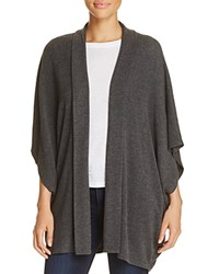 Cupcakes And Cashmere Cerise Dolman Sleeve Cardigan Heather Charcoal
