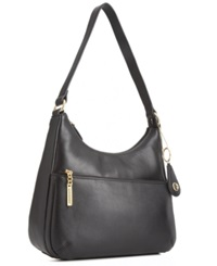 Giani Bernini Nappa Leather Hobo Bag Black