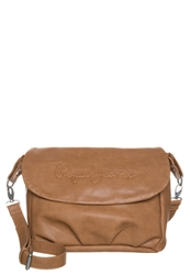 Pepe Jeans Manati Across Body Bag Tan Brown