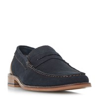 Howick Righteous Classic Smart Loafers Navy