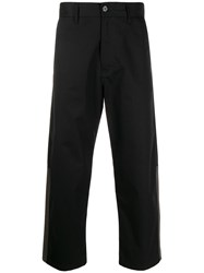 Marni Contrast Panelled Cropped Trousers 60