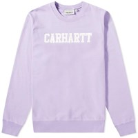 Carhartt College Sweat Purple