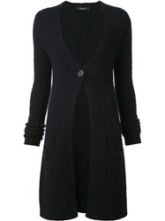 Derek Lam Knee Length Cardigan Blue