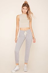 Forever 21 Lace Up Sweatpants