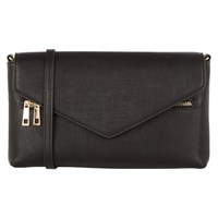Oasis Maria Envelope Clutch Bag Black