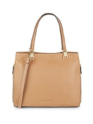 Vince Camuto Top Handle Leather Tote Sugarplum