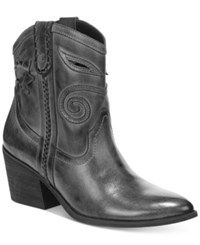 Carlos By Carlos Santana Austin Western Booties Women's Shoes Grey