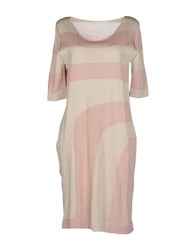 Roberto Collina Dresses Short Dresses Women Beige