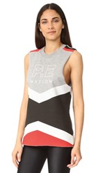 P.E Nation Racer Back Tank Multi