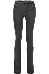 Acne Studios Needle Rocca High Rise Skinny Jeans Gray