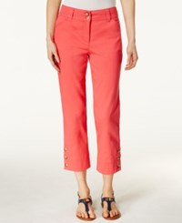 Charter Club Tummy Control Capri Pants Only At Macy's