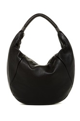 Kenneth Cole No Slouch Leather Hobo Black