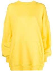 Y Project Oversized Hoodie Yellow And Orange