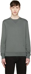 Blk Dnm Green French Terry Pullover