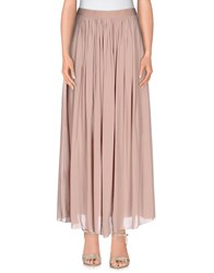 Guardaroba By Aniye By Skirts Long Skirts Women Light Brown