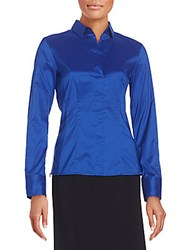Hugo Boss Bashina Blouse Medium Blue