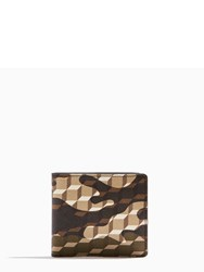 Pierre Hardy Camocube Wallet Brown