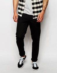 Cheap Monday Slack Chinos Slim Fit Black