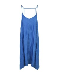 Doralice Knee Length Dresses Blue