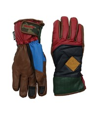 Celtek Aviator Motley Snowboard Gloves Brown