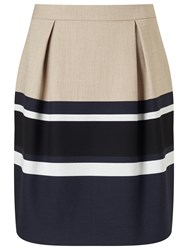 Phase Eight Caitlin Stripe Skirt Multicoloured