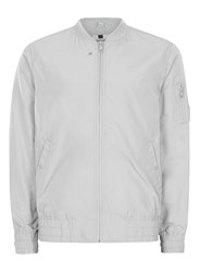 Topman Light Grey Lightweight Bomber Jacket