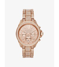 Wren Pave Rose Gold Tone Watch