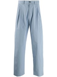 Stephan Schneider Loose Fit Chino Trousers Blue