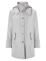 Four Seasons Hooded Caban Jacket Putty