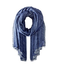 Bcbgeneration Double Take Wrap Navy Sea Scarves