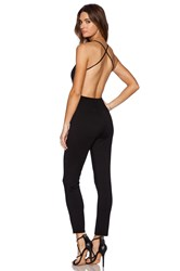Rachel Pally X Revolve Plunge Neck Jumpsuit Black
