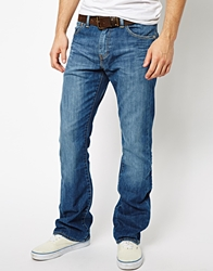 Levi's Jeans 527 Slim Bootcut Fit Mostly Mid Blue Mostlymidblue