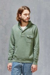 Pendleton Beach Fleece Sweatshirt Green