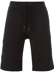 Belstaff Drawstring Track Shorts Black