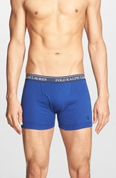 Men's Polo Ralph Lauren Boxer Briefs Blue Assorted