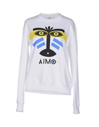 Aimo Richly Sweatshirts White