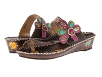 Spring Step Santorini Brown Leather Women's Sandals