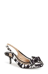 Women's J. Renee 'Garbi' Slingback Pump Black White