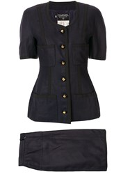 Chanel Pre Owned Setup Two Piece Skirt Suit 60