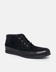 Selected Homme Chukka Boots Navy