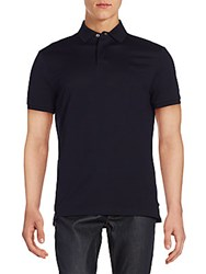 Ralph Lauren Black Label Stretch Cotton Polo Dark Blue