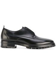 Lanvin Derby Shoes Men Calf Leather Leather Rubber 10 Black