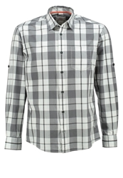 S.Oliver Regular Fit Shirt Stone Grey Check