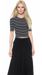 Elizabeth And James Fitted Pullover Black Ivory