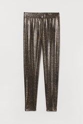 Handm H M Shimmering Leggings Black