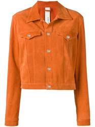 Giorgio Brato Boxy Jacket Orange