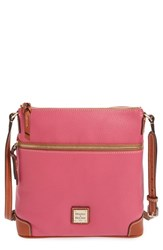 Dooney And Bourke Pebble Leather Crossbody Bag Pink Hot Pink