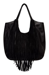 Urban Originals 'Fringed Masterpiece' Tote Black