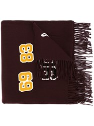 Undercover Patch Work Scarf Red